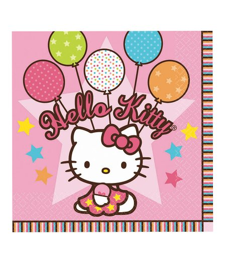 Hello Kitty Luncheom Napkin (1 PKG / 16)