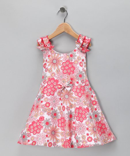 Dolce Liya Pink Rose Dress