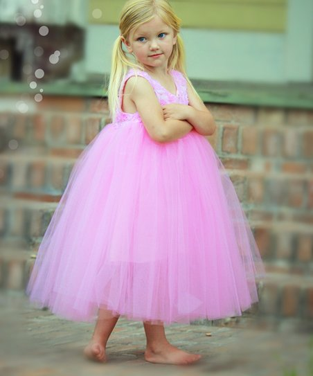 Pink Amore Tutu Dress - Toddler & Girls