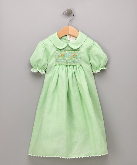 Mint Green Kite Dress - Infant & Toddler
