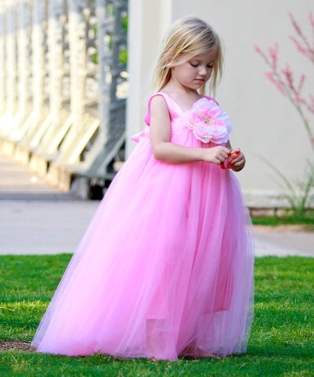 Pink Ella Princess Dress - Infant, Toddler & Girls