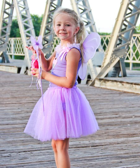 Purple Fairy Princess Set - Infant, Toddler & Girls