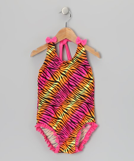 Pink Zebra One-Piece - Infant