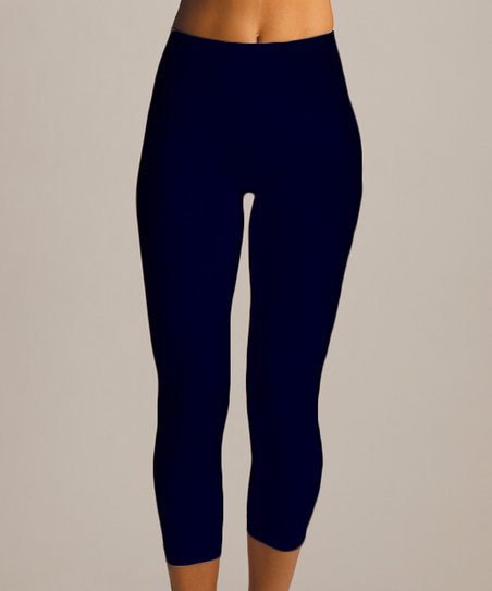 Black High-Waisted Shaper Leggings - Women