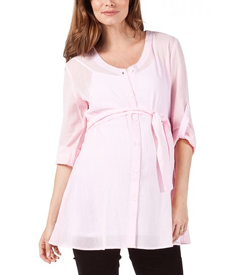 Blush Joelle Maternity Tunic