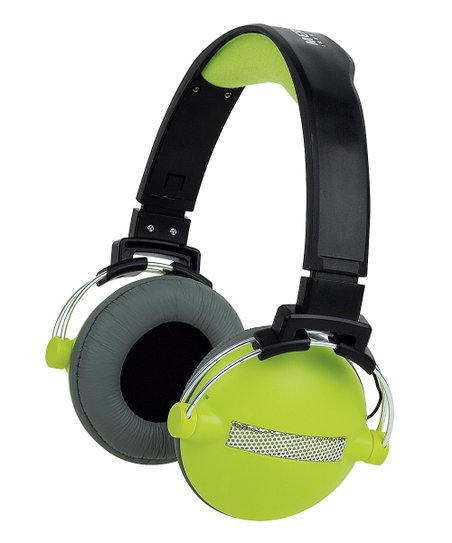 Green Urban Beatz Round Headphones