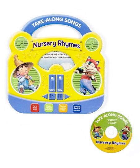 Take-Along Songs Nursery Songs Board Book & CD Set