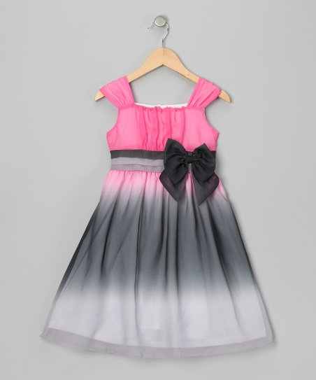 Pink Ombr Elise Dress - Girls