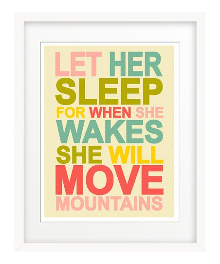 'Let Her Sleep' Giclée Print