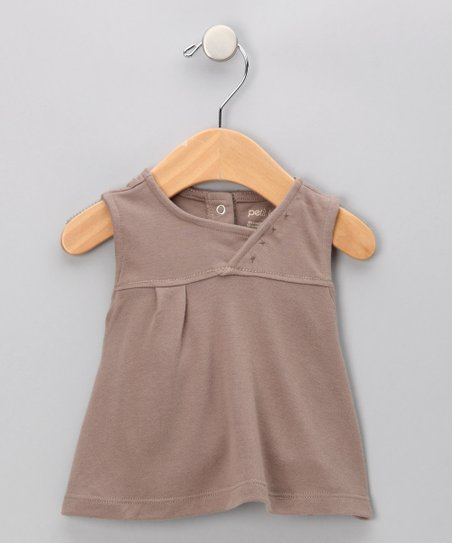 Fungi Brown Bamboo Dress