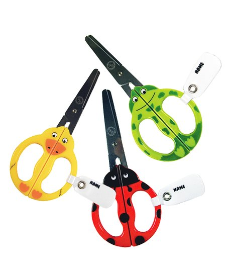 Animal Kid Scissors - Set of Three