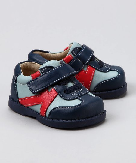 Blue & Red K Trainer Sneaker