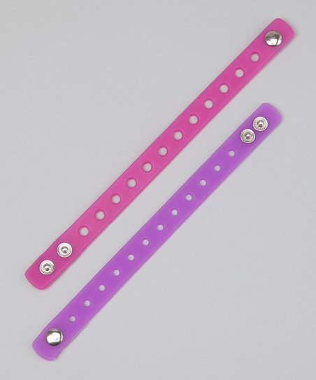 Purple & Pink Bracelet Set