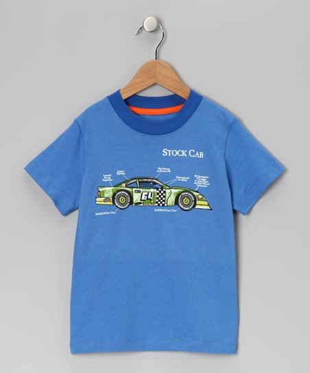 Sky Blue Stock Car Tee - Infant & Toddler