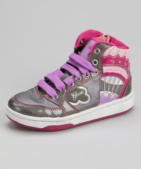 Dark Gray Jr Mania Hi-Top