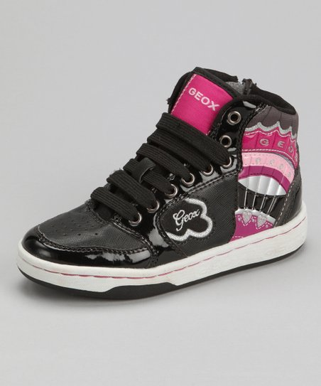 Black Jr Mania Hi-Top