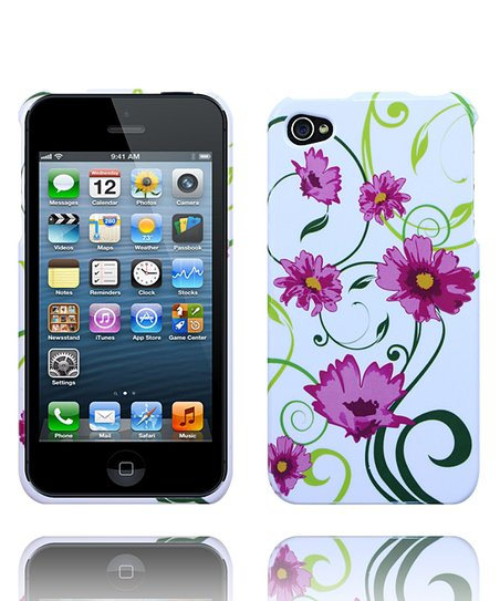 Pink Dancing Flower Case for iPhone 4/4S