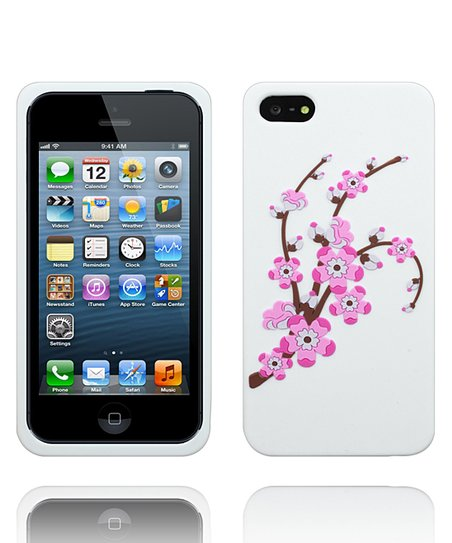 Pink Orchid Flower Case for iPhone 5