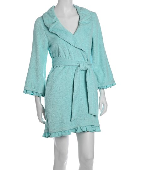 Jamaica Blue Loop Robe