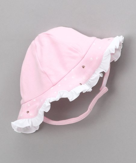 Pink Best Friends Sunhat