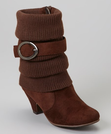 Brown Auto Bootie