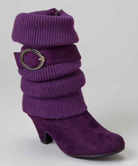 Purple Auto Bootie
