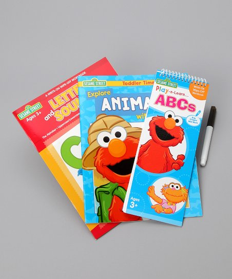 Sesame Street Letters & Sounds Set