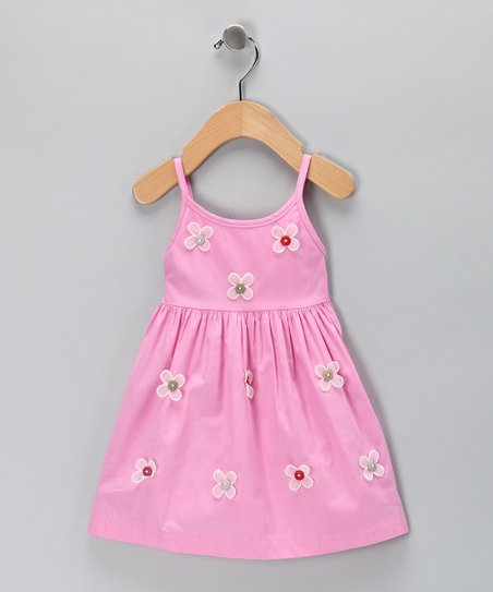 Pink Daisy Dress - Toddler