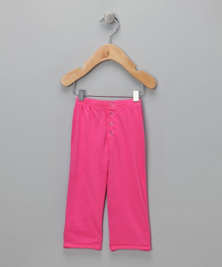 Pink Snappy Pants - Infant