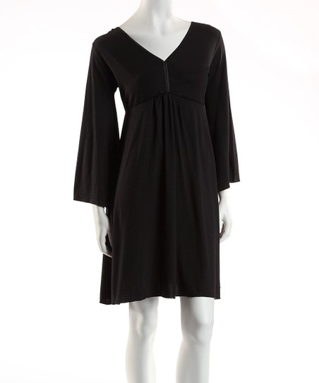 Jonäno Black Angel Dress - Women
