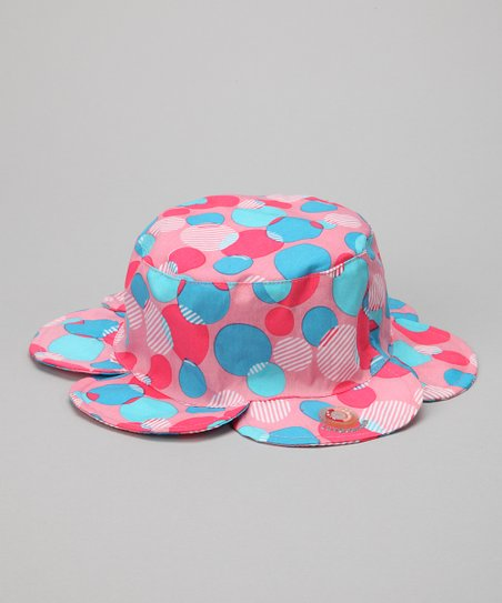 Pink Bubble Petal Sun Alert Sunhat
