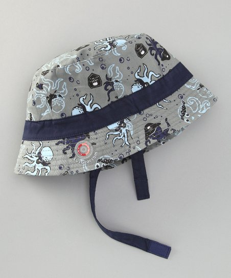 Gray Octopus Sun Alert Sunhat