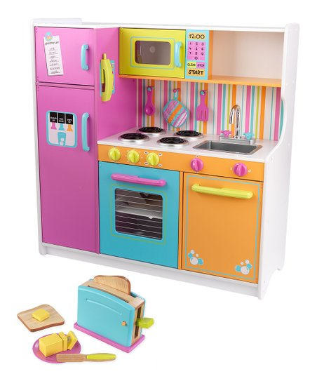 Deluxe Big & Bright Kitchen & Bright Toaster Set