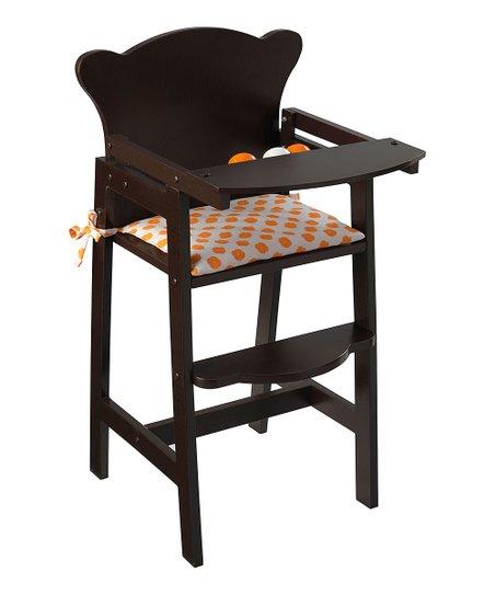 Lil' Doll High Chair Espresso