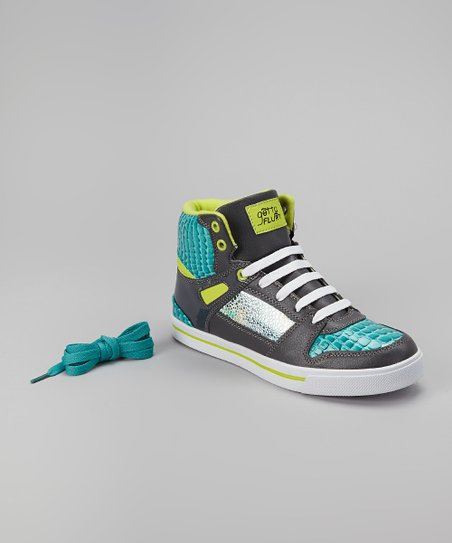 Teal Hip Hop Sneaker - Women