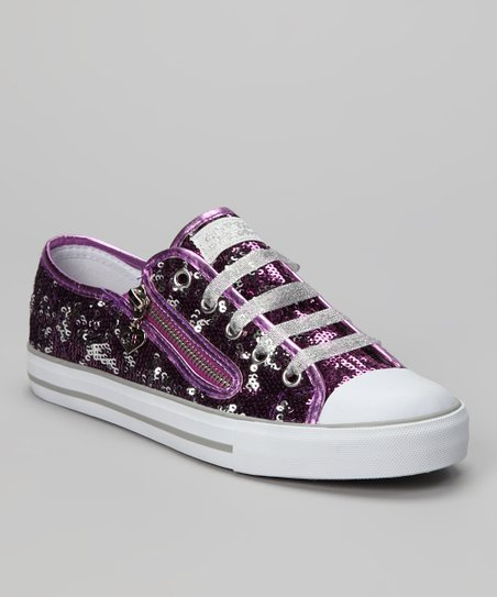 Purple Mysterious Sneaker - Women