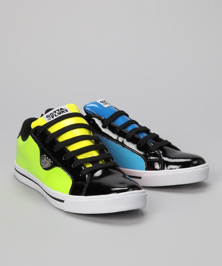 Neon Twist Me Confused Plasma Sneaker - Women