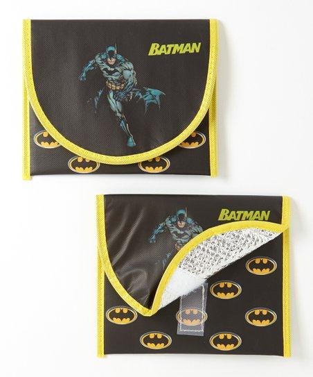 Black Batman Sandwich Bag – Set of Two