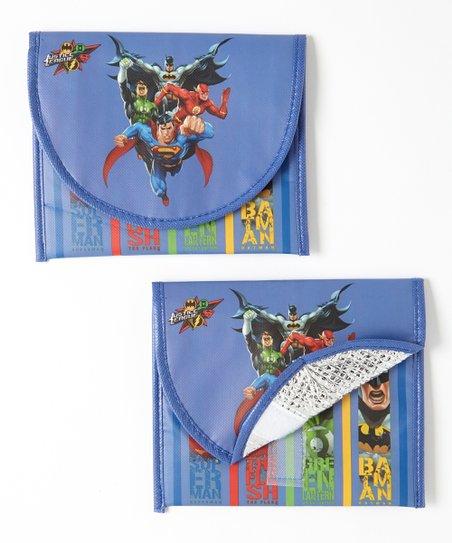 Justice League Sandwich Bag – Set of Two