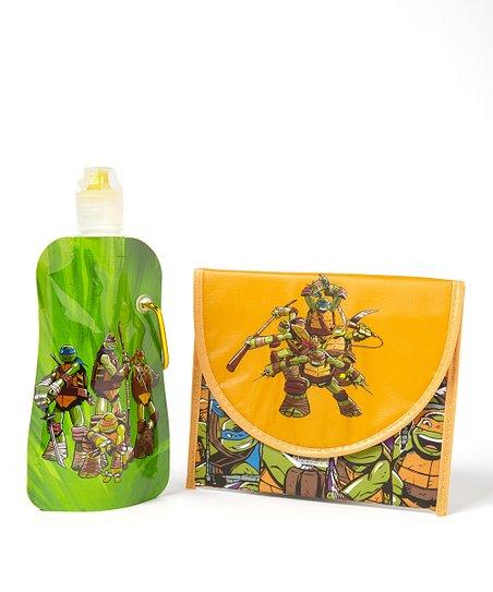 Teenage Mutant Ninja Turtles Foldable Bottle & Sandwich Bag