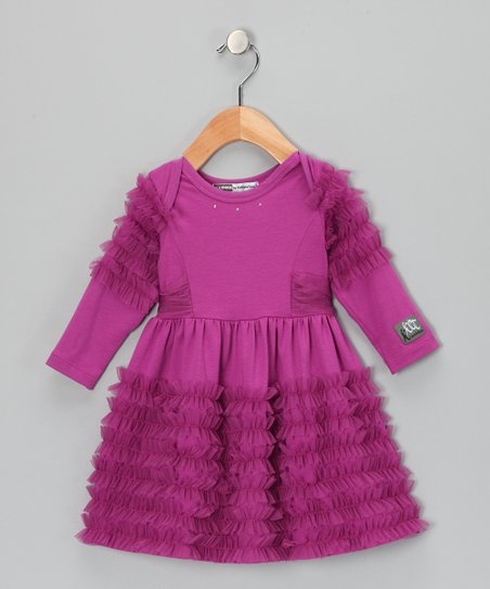 Berry Anemone Dress - Infant & Toddler