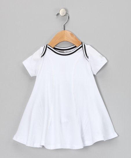 White Iris Dress - Infant