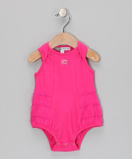 Raspberry Clover Bodysuit - Infant