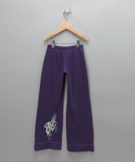 Plum Peacock Pants