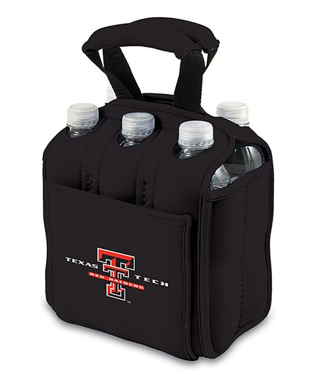 Texas Tech Red Raiders Black Six-Pack Beverage Buddy