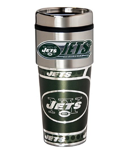New York Jets Stainless Steel Travel Tumbler