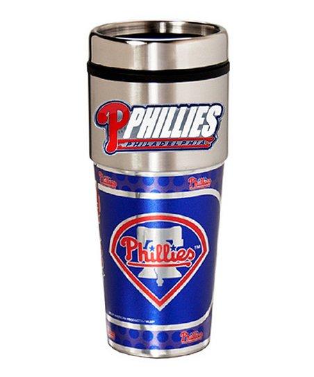 Philadelphia Phillies Stainless Steel Travel Tumbler