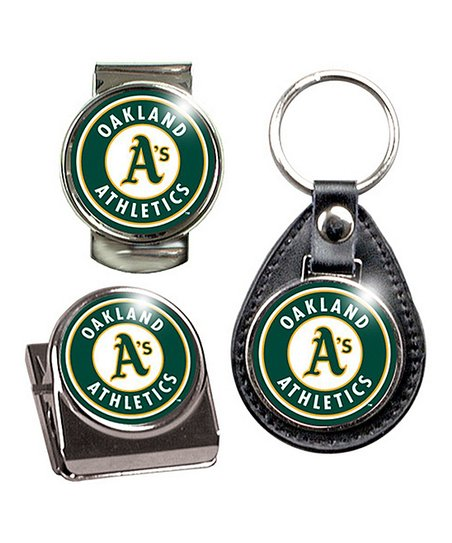 Oakland Athletics Key Chain Set