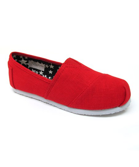 Red Venus Slip-On Shoe