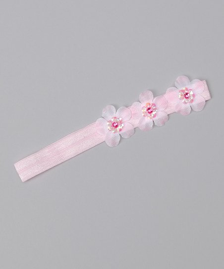Light Pink Petal Headband